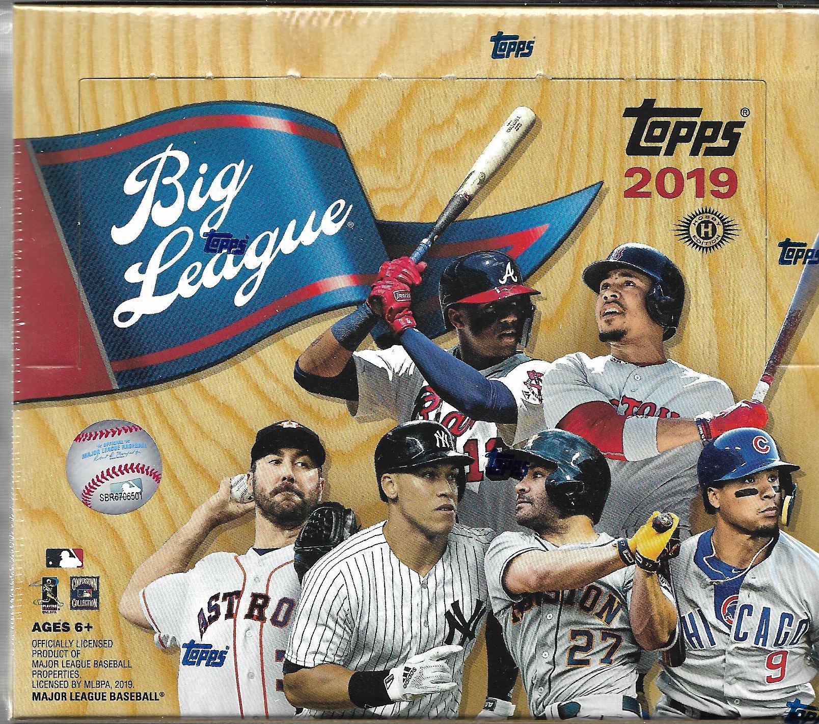 2019 Topps Big League Baseball Hobby